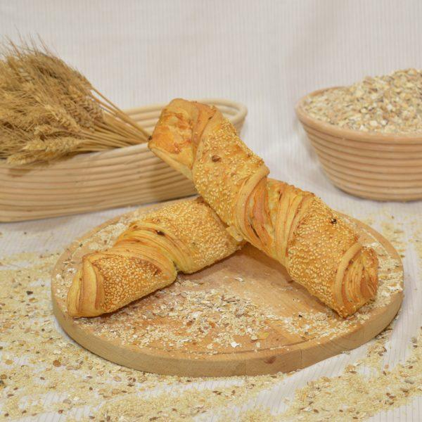 papp pékség, baconos csavart rúd, pékáru, mezőkövesd