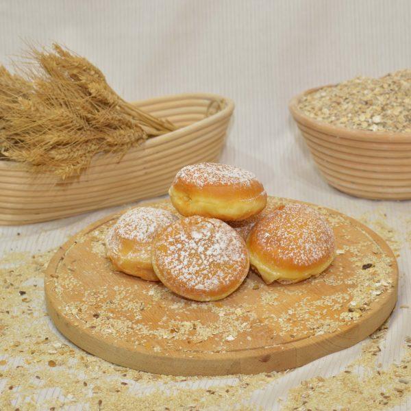 lekváros fánk, papp pékség, pékáru, mezőkövesd