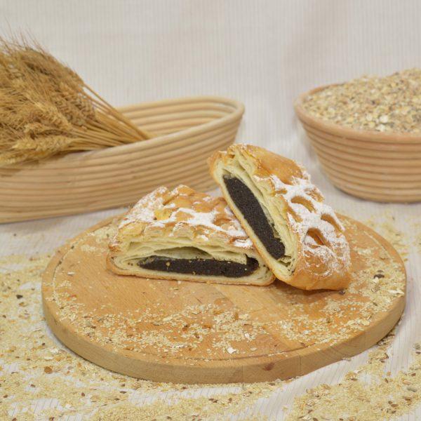 mákos rétes, papp pékség, pékáru, mezőkövesd