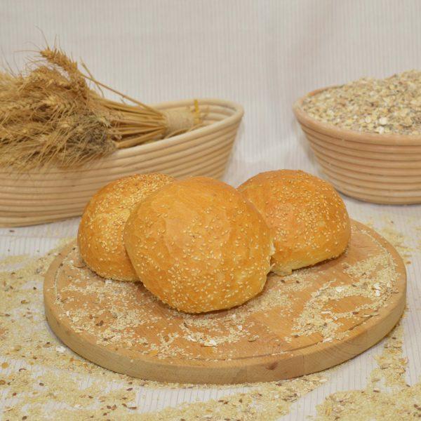 szezámmagos zsemle, papp pékség, pékáru, mezőkövesd